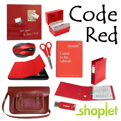 Code Red Code Red: Classic Supplies in New Hues