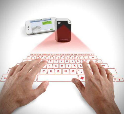 Keychain Laser Projection Virtual Keyboard 2 Best of Office Weekly Roundup 192