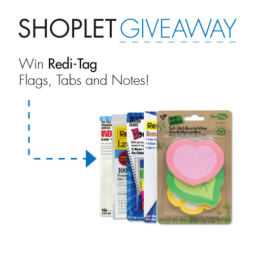 giveaway blog reditag WIN Redi Tag Flags, Tabs & Notes!