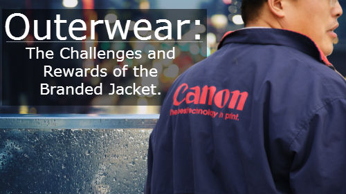 outerwear Outerwear: The Challenges and Rewards of the Branded Jacket.