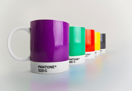 Pantone color  mugs- Pantone color systems