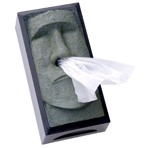 Best of office weekly roundup desk eccentrics shoplet - Nose tissue dispenser ...