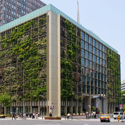 We're pretty sure this building produces enough air for all its tenants.