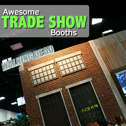 Awesome Tradeshow Booths