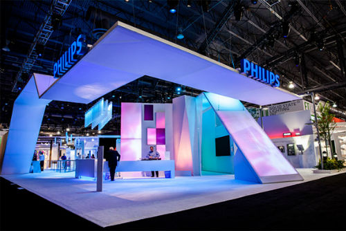 Exhibition Booth Lighting : Awesome trade show booths shoplet
