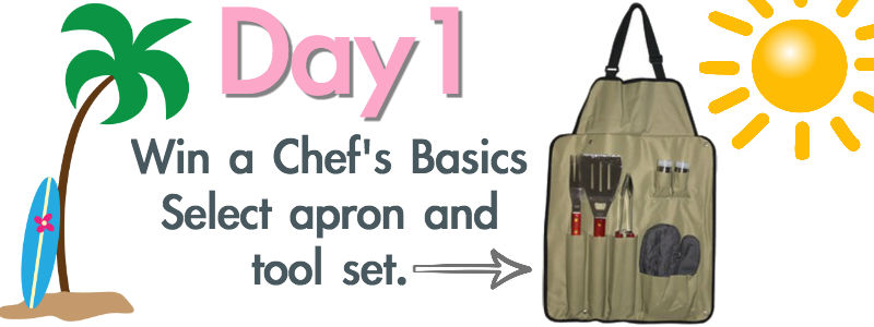 Day 1 chef's basics apron
