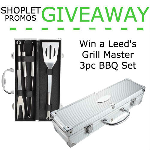 Grill Master giveaway