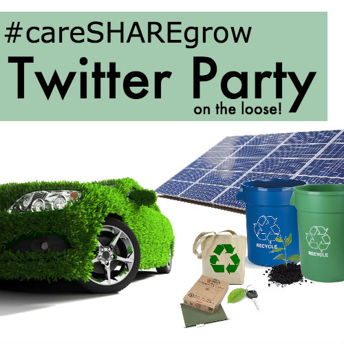 caresharegrow Twitter party on the loose