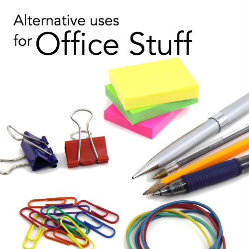 Alternative uses for Office stuff