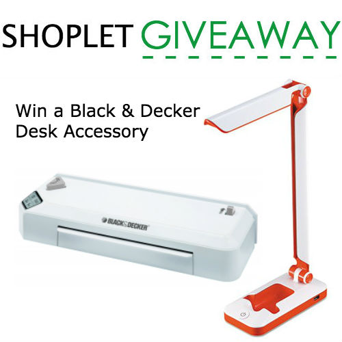 Win a black and decker desk accessory