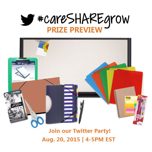 #careSHAREgrow Prize Preview