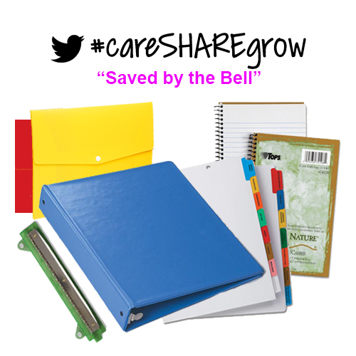 #careSHAREgrow Prize Saved by the Bell