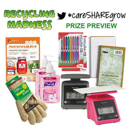 Recycling Madness #CSG Prizes - Preview