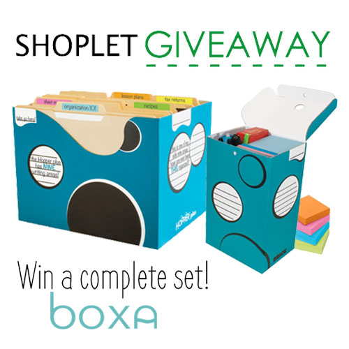 BOXA Set Giveaway - Shoplet