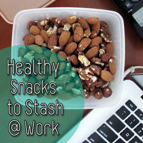 Healthy Snacks to Stash at Work