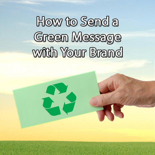 How to send a green message