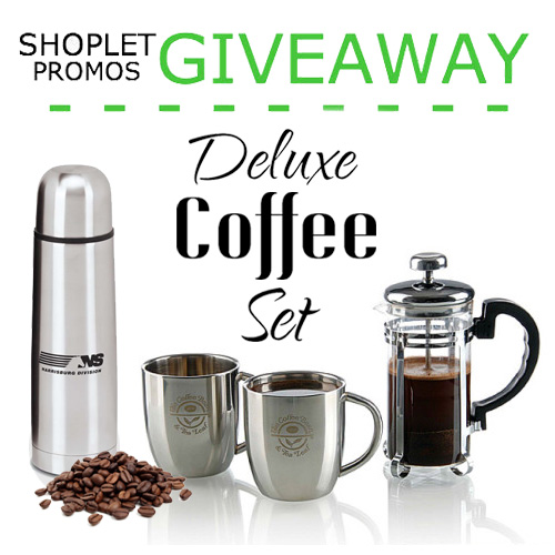 Promos Giveaway - Deluxe Coffee Set