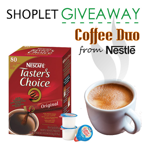 Weekly Giveaway - Coffee Duo