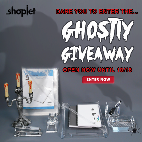 Ghostly Giveaway