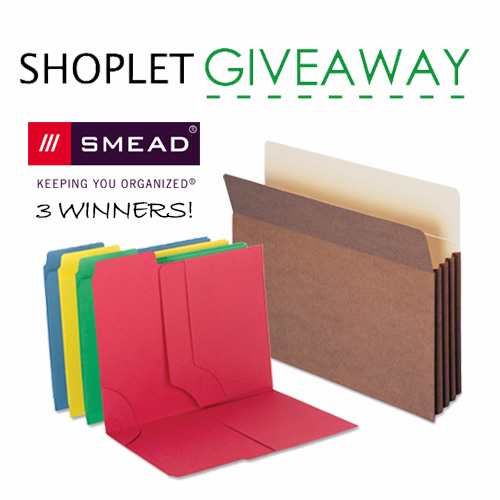 Smead Weekly Giveaway