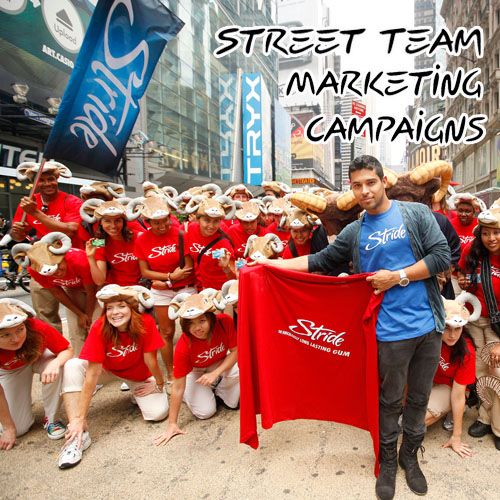 Street Team Marketing Campaigns Stride