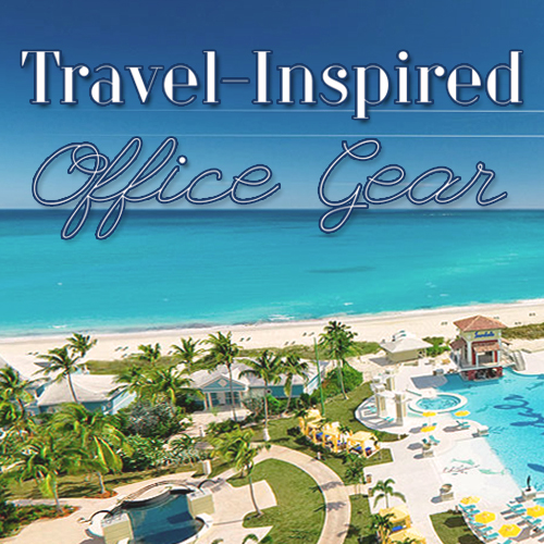 Travel-Inspired Office Gear Title