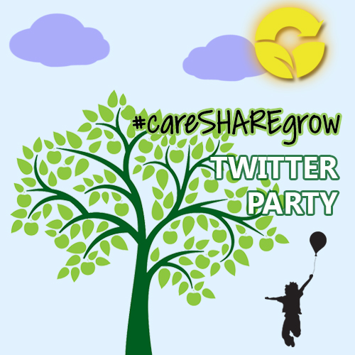 Get ready for a #careSHAREgrow Twitter Party!