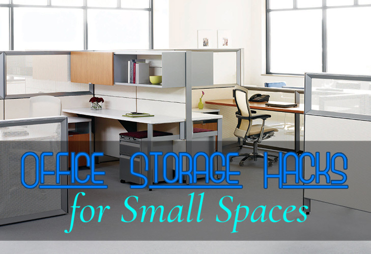 Office Storage Hacks for Small Spaces
