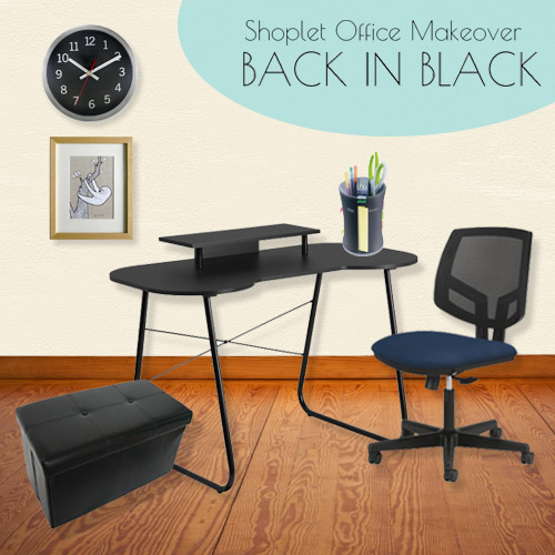 Shoplet Office Makeover Collection 3 - Back in Black