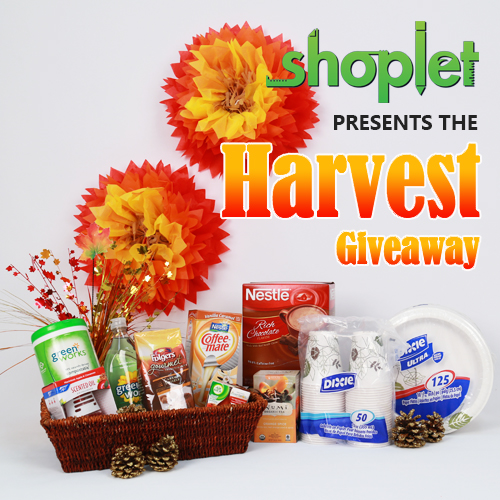 Thanksgiving Harvest Giveaway Video Blitz Contest