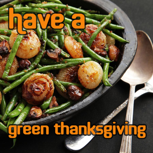How to have a green Thanksgiving