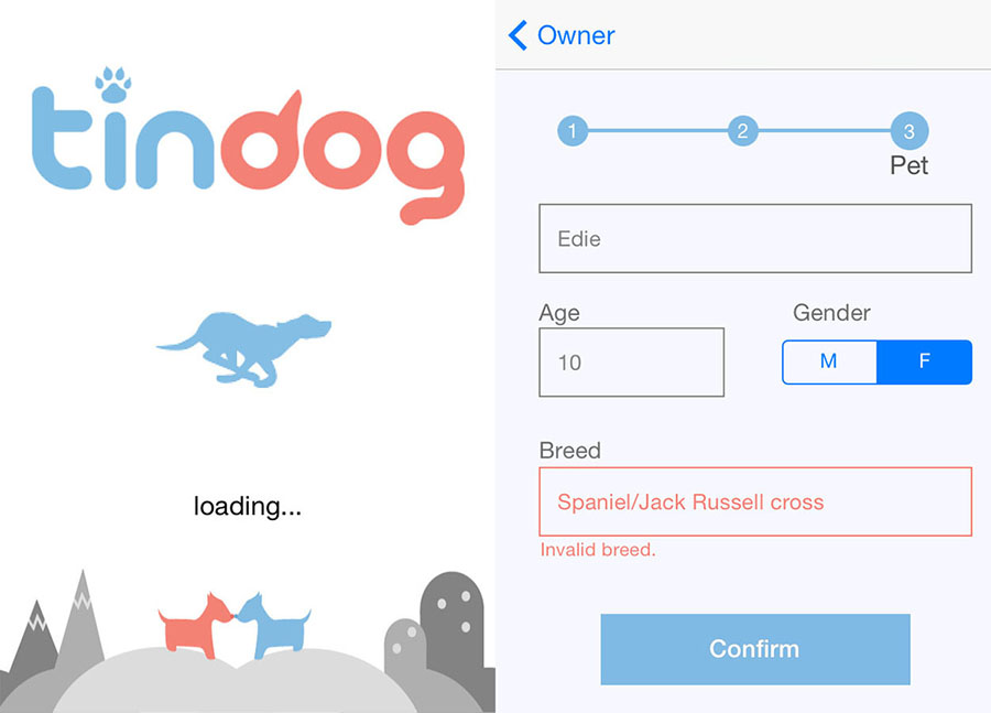 Tinder for dog lovers