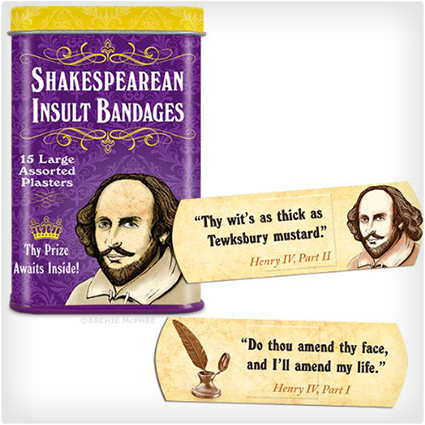 Shakespearean-Insult-Bandages