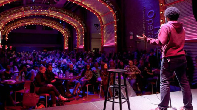 Marketing Exhibition Stand Up Comedy : Ideas to plan your office holiday party shoplet