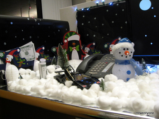 Epic christmas cubicles shoplet for Xmas office design