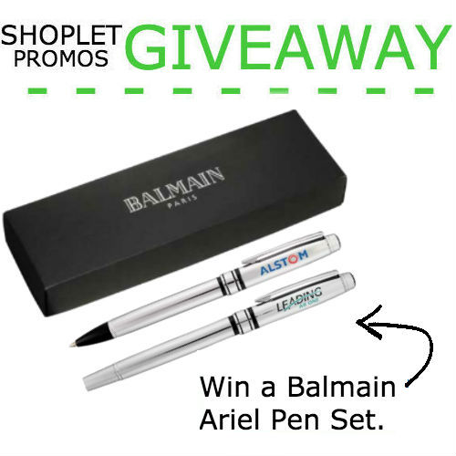 Win a Balmain Ariel Pen Set