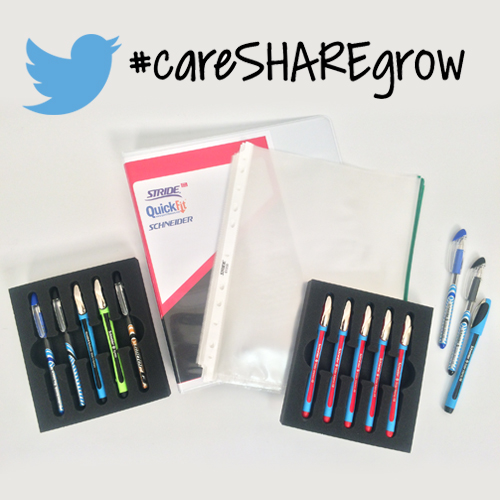 Get Active with #careSHAREgrow - Prize Preview