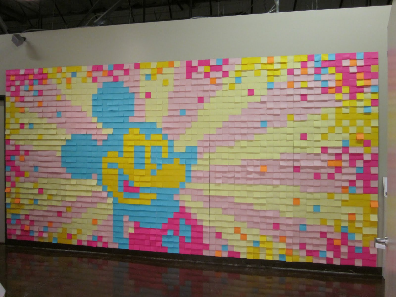 mickey-mouse-post-it-wall-art