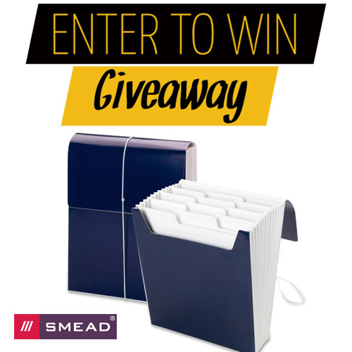 Win a Smead Organized Up Vertical Expanding File