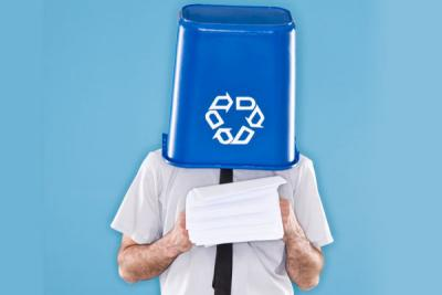 office recycling
