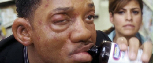 will smith hitch allergies