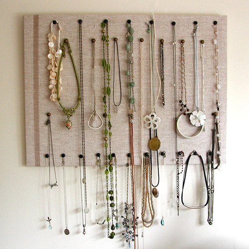 Cork Board Jewerly Display