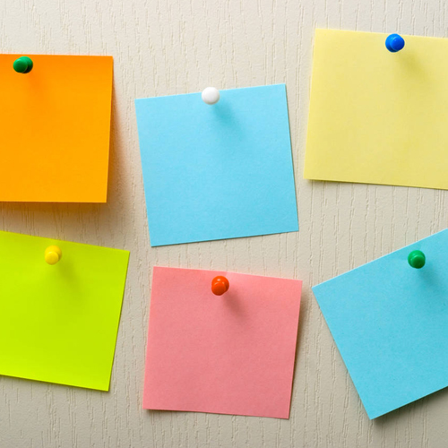 Teacher Supplies Sticky Notes