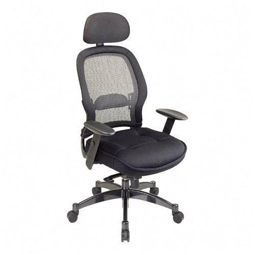 Office Star Space 25004 Executive High-Back Mesh Chair