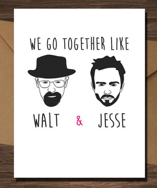 Together like Walt and Jesse
