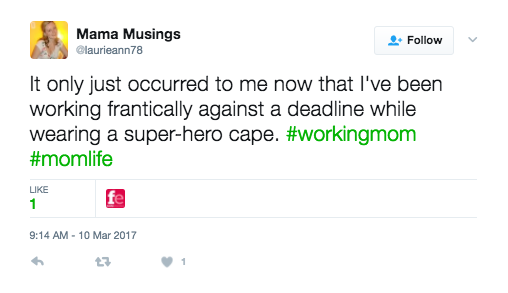 super-hero mom