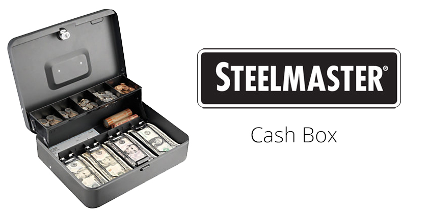 Steel master cash box