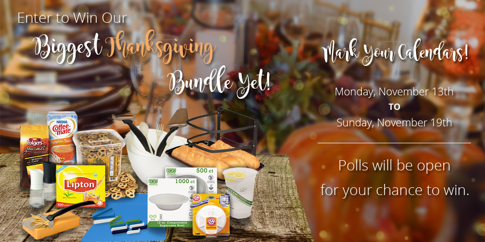 It's Time! Enter to Win our Thanksgiving Dinner Party Bundle