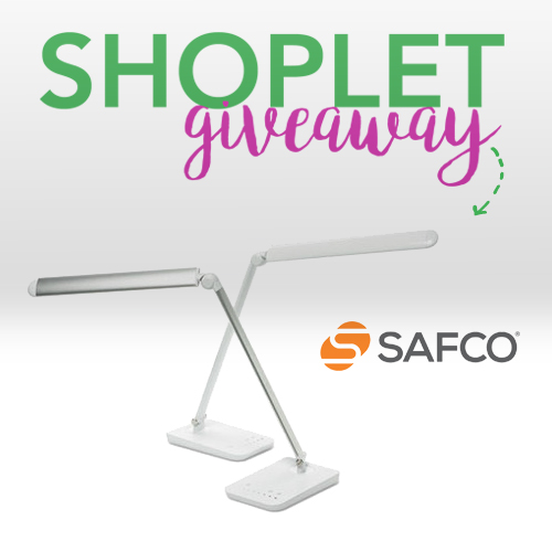 Win a Safco Vamp Mini Desk Lamp